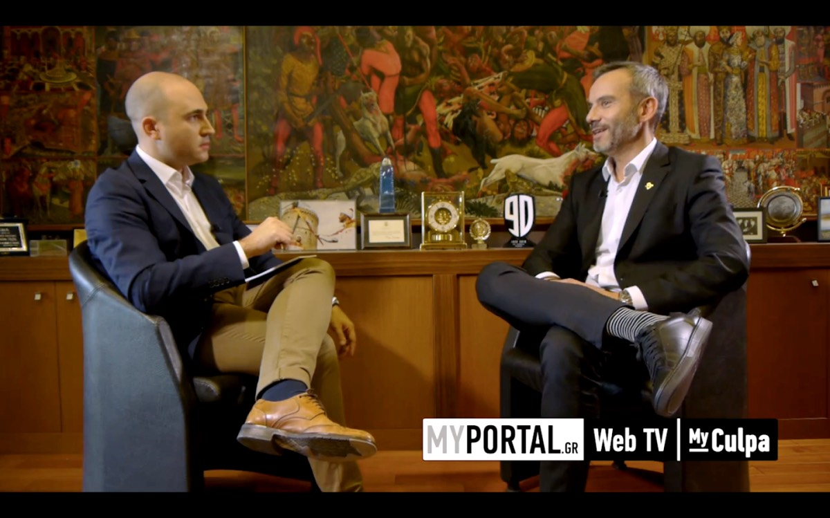 Τηλεοπτική συνέντευξη με τον Κωνσταντίνο Μπογδάνο