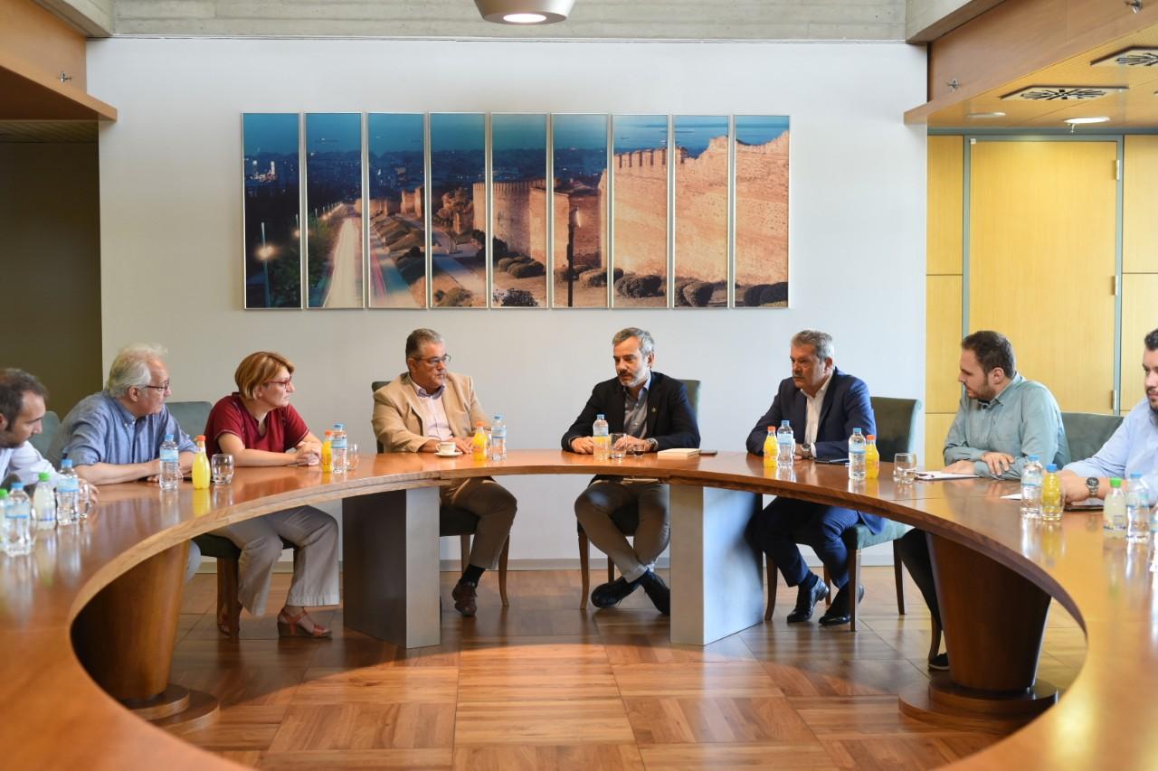 Εθιμοτυπική συνάντηση με τον Γενικό Γραμματέα του ΚΚΕ