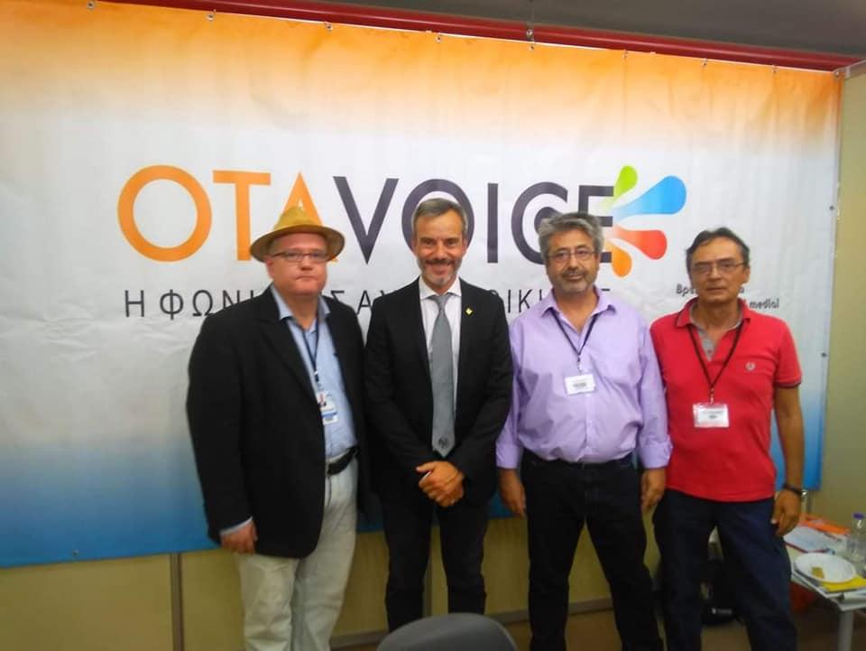 Ο Κ. Ζέρβας στο OTAVOICE: «Θα δουλέψουμε όλοι για να φέρουμε την Θεσσαλονίκη στη θέση που της αξίζει»