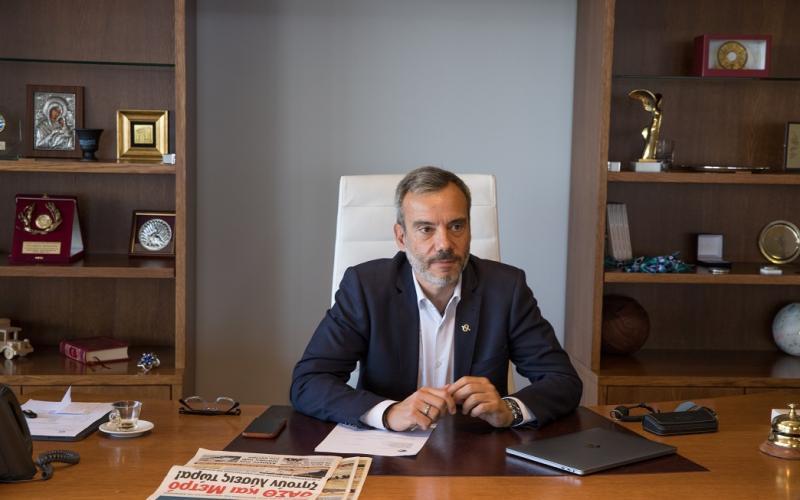 Κωνσταντίνος Ζέρβας: «Η Θεσσαλονίκη να περάσει στη νέα γενιά»