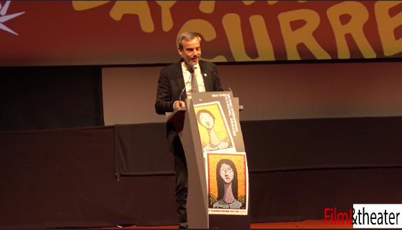 Ομιλία δημάρχου Θεσσαλονίκης στην τελετή έναρξης του 60ου Φεστιβάλ Κινηματογράφου Θεσσαλονίκης