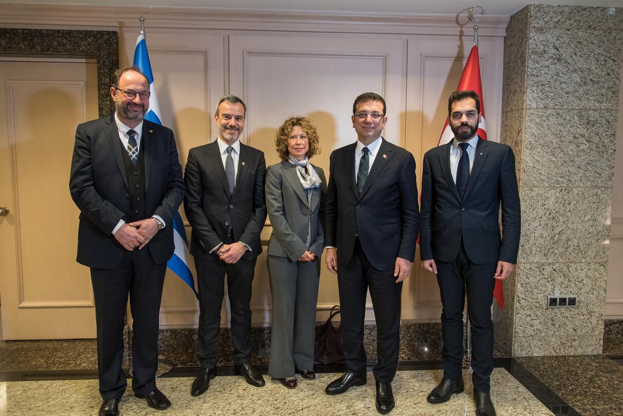 Ολοκληρώθηκαν οι συναντήσεις του Κ. Ζέρβα στην Κωνσταντινούπολη. Θετικό το κλίμα με Ιμάμογλου