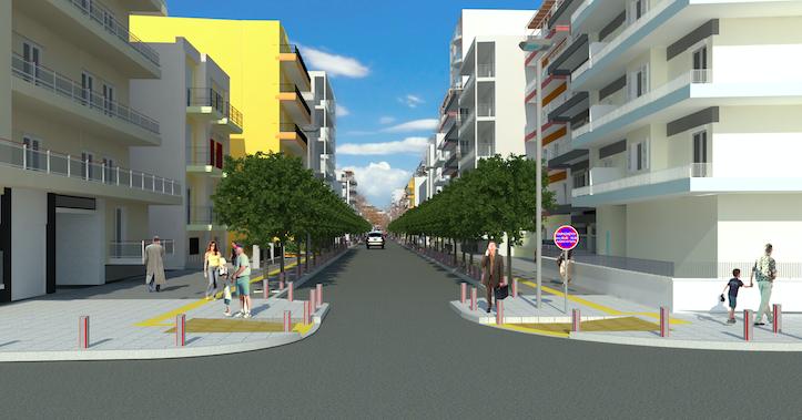 Σε τροχιά υλοποίησης το εκτεταμένο πρόγραμμα αναπλάσεων στις γειτονιές – Έναρξη έργων από την οδό Χαλκιδικής