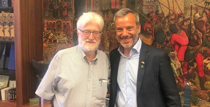 Συνάντηση Κων. Ζέρβα με τον εκλεγμένο δήμαρχο του Δήμου Ιωαννιτών Μωυσή Ελισάφ