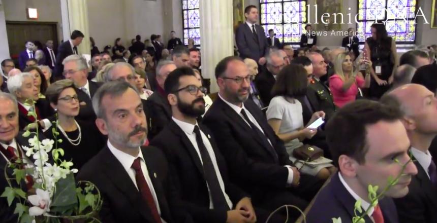 Η ενθρόνιση του νέου Αρχιεπισκόπου Αμερικής από το Hellenic DNA