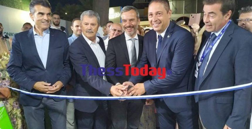 Εγκαινίασε το περίπτερο του Δήμου Θεσσαλονίκης στη ΔΕΘ ο Κ. Ζέρβας