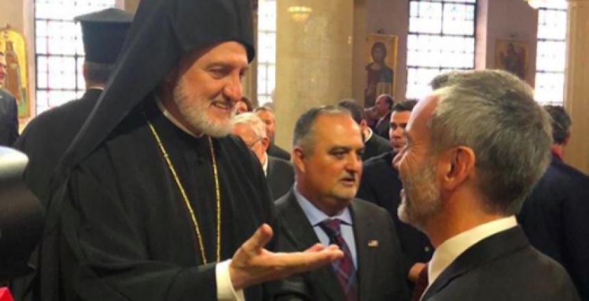 Στην ενθρόνιση του Αρχιεπισκόπου Αμερικής