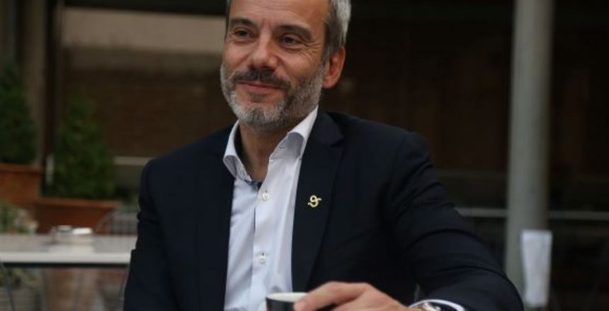 Καφές με τον δήμαρχο Θεσσαλονίκης Κωνσταντίνο Ζέρβα